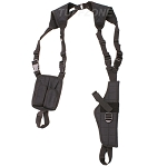 Vertical Shoulder Holster - Black