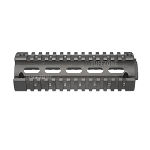 2 Piece Quad Rail Hand Guard for Carbine Size AR