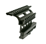 Tactical AK Double Rail Side Mount w/ Quick Release Lever