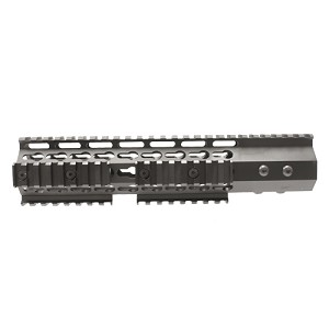 Slim Design 7 Sided Keymod Hand Guard 10""