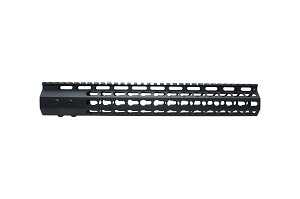 "10"" Slim 7-Sided KeyMod Handguard (No Rails Included)"