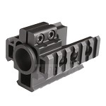 Tri-Rail Barrel Mount, 6 Slots Each Rail
