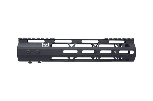 "AR-15 US Made 10"" Hybrid Free Float M-LOK Handguard"