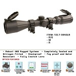 3-9X40 Rubberized Full Size Scope